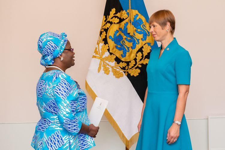e37ff0c5e19 W3 uudised - FOTOD | Nelja riigi suursaadikud andsid Kersti Kaljulaidile  volikirjad