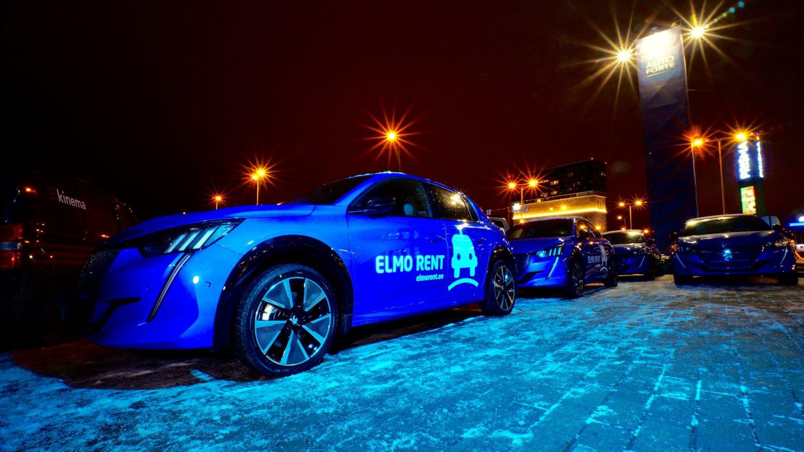 ELMO Rent toob Tallinna ja Tartu tänavatele 15 uut Peugeot elektriautot