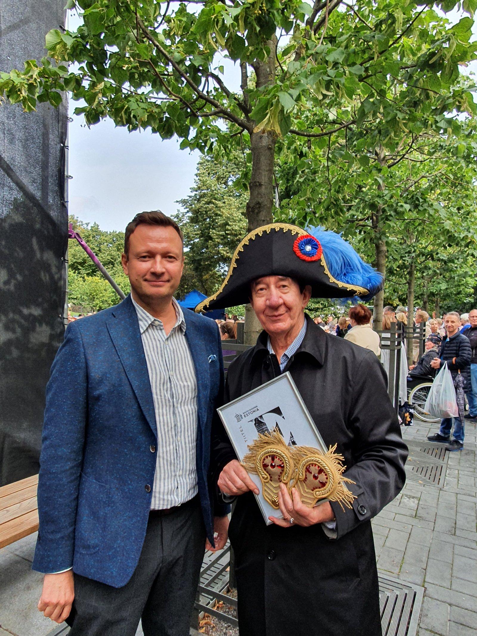 FOTO   Lauri Leesi pälvis tiitli Estonia teatri sõber 2020