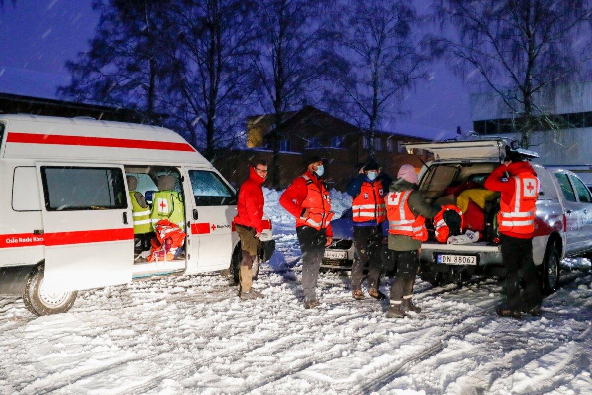 NORWAY ACCIDENTS LANDSLIDE
