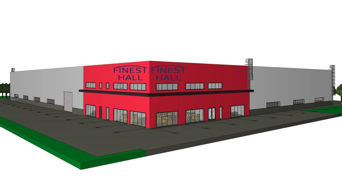 FinEst-Hall Factory tehas tuleb kevadel Tallinna ringtee äärde.