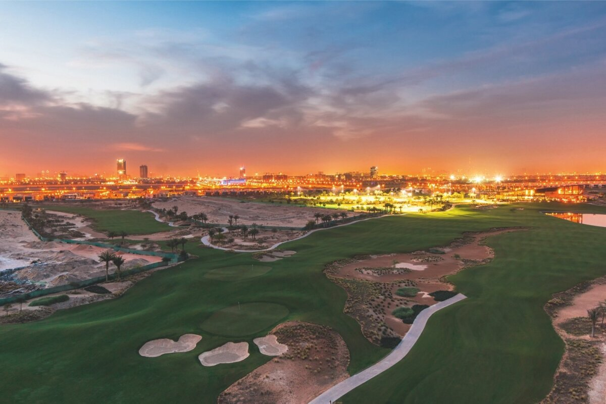 Hussain Sajwani osalusel loodud Trump International Golf Club Dubais.