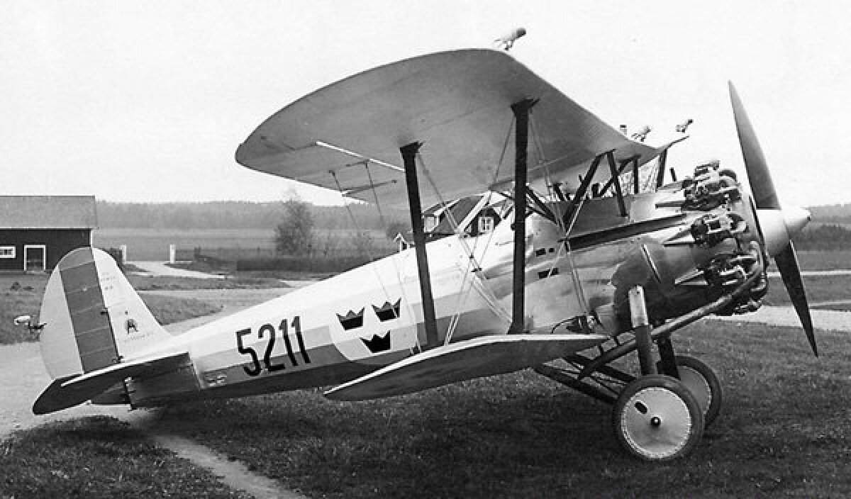 Rootsi lennuväe Bristol Bulldog II. https://www.aviation-history.com