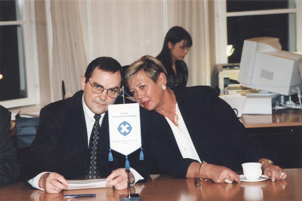Mart Siimann ja Ivi Eenmaa
