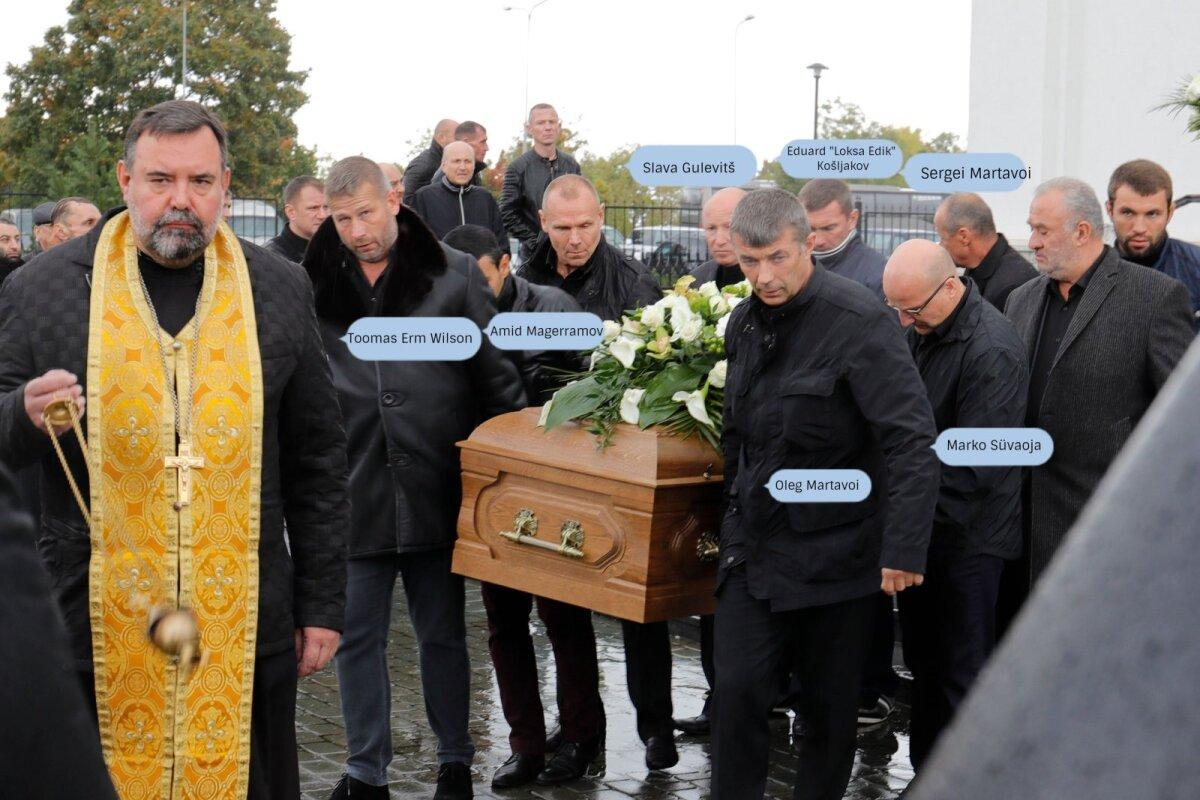 Nikolai Tarankovi kirstu kandjad