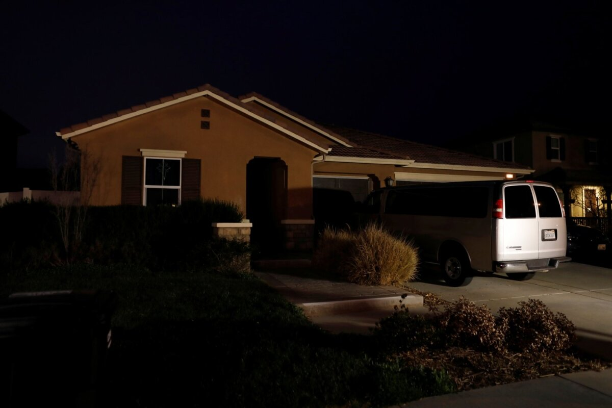 Turpinite kodu USA-s Californias Perrise linnas. (Foto: REUTERS)