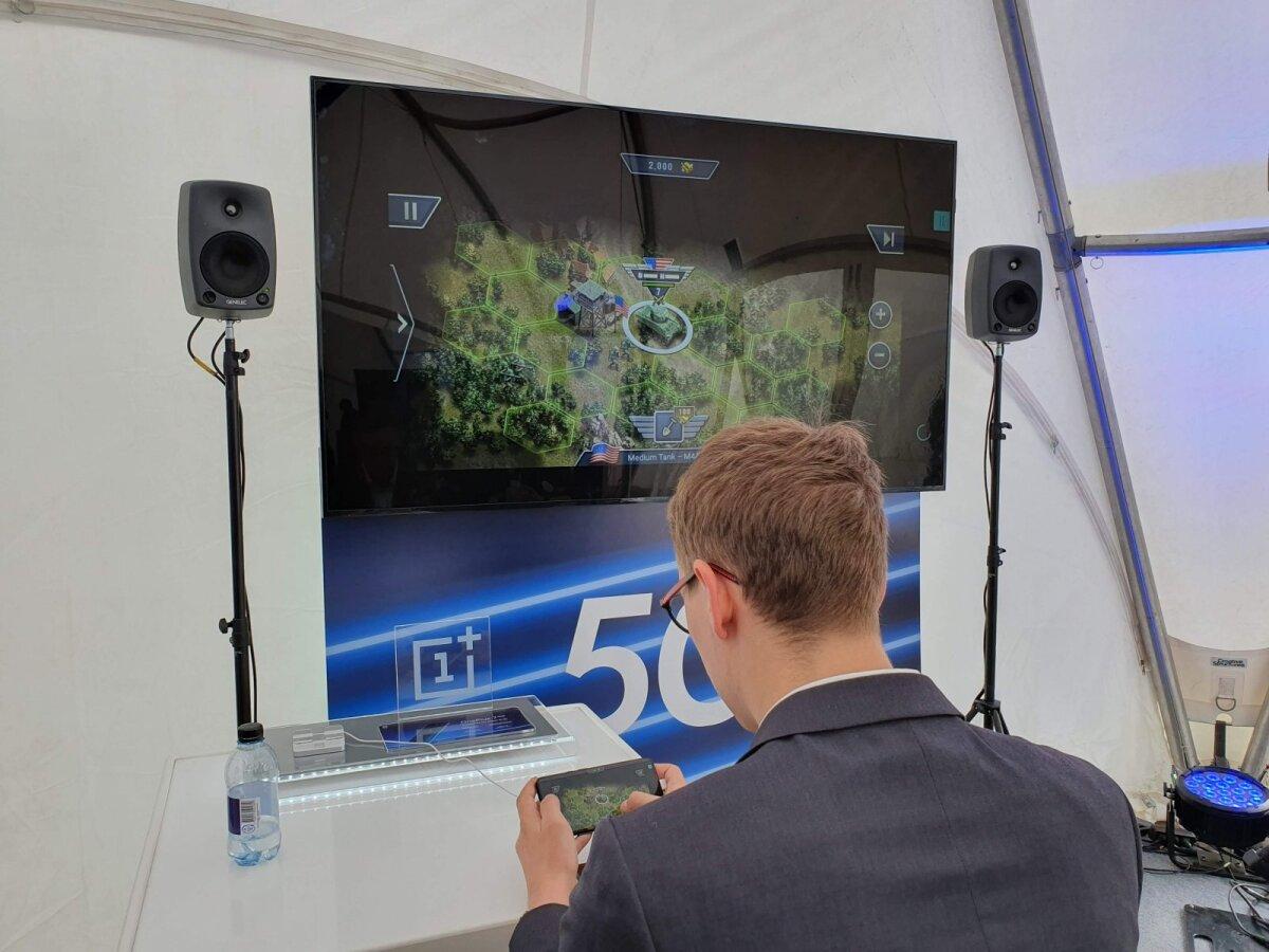 Üks 5G võimalikke rakenduskohti on videomängude voogedastamises, siin on testimisel Hatchi mängukeskkond