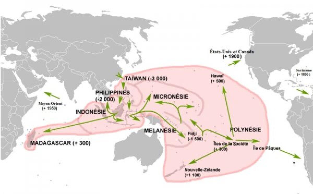 Austroneesia migratsioon.