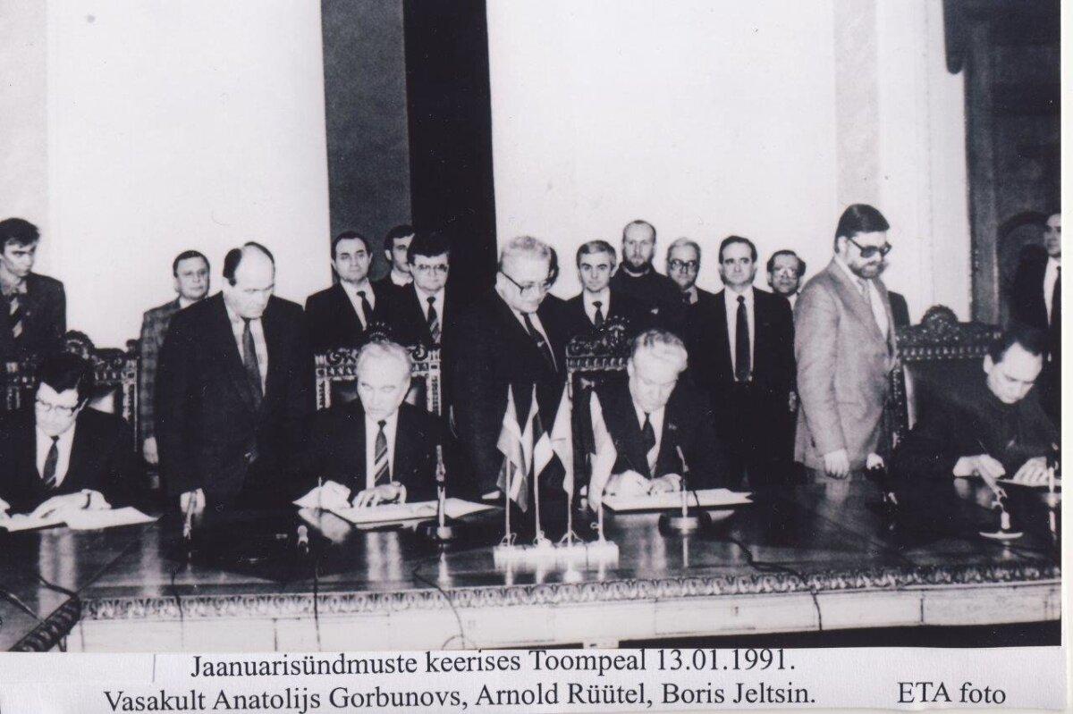 Jaanuarisündmuste keerises 1991. aastal
