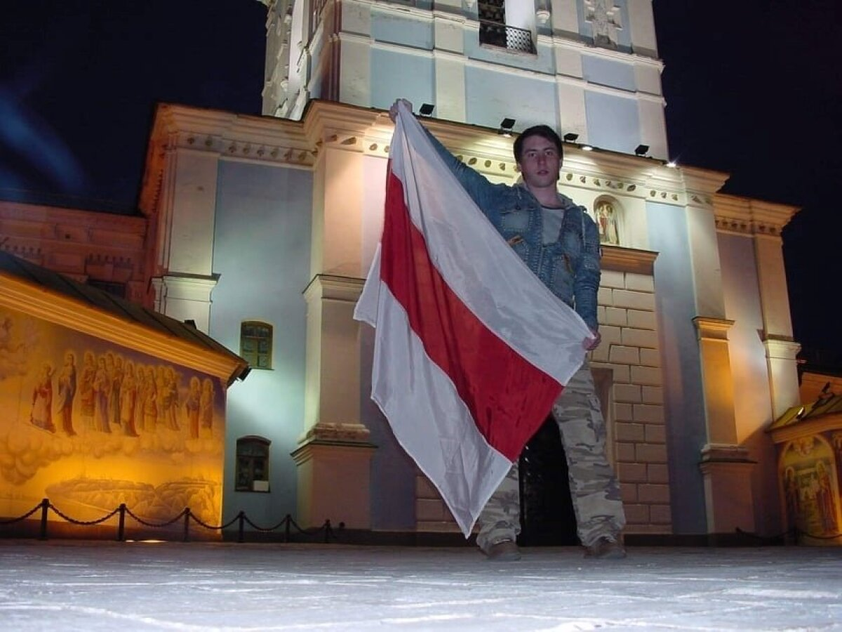 2006 год. Фото сделано в день знакомства Николая и Максима