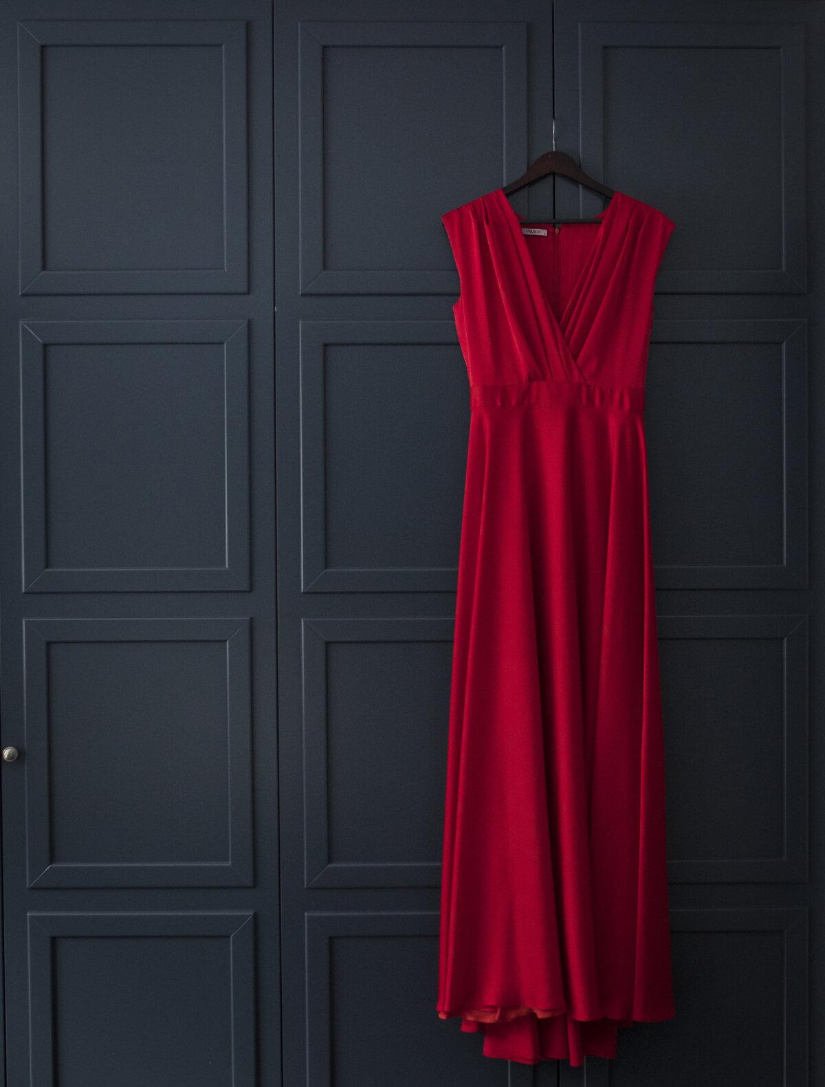 Triinu lemmik, Iris Janvieri kleit, mis valmis 2016.aasta Colonna heategevusgalaks ning mille ta sai kätte loetud minutid enne pidu.