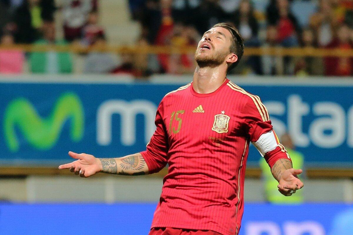 Sergio Ramos Hispaania kapteni rollis