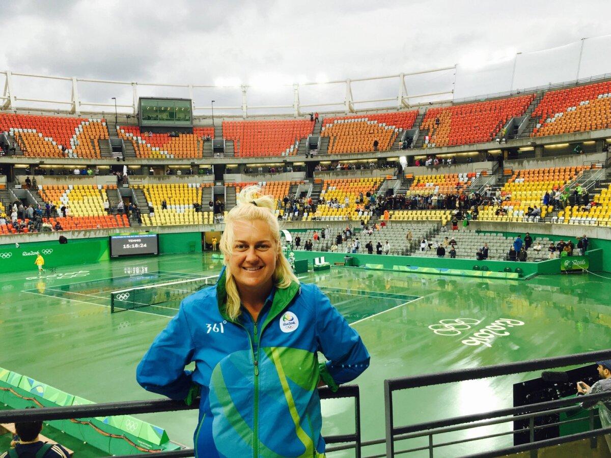 Kairi Karpa 2016. aasta Rio olümpiamängudel.