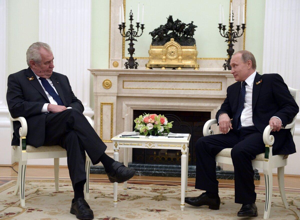 Zeman ja Putin