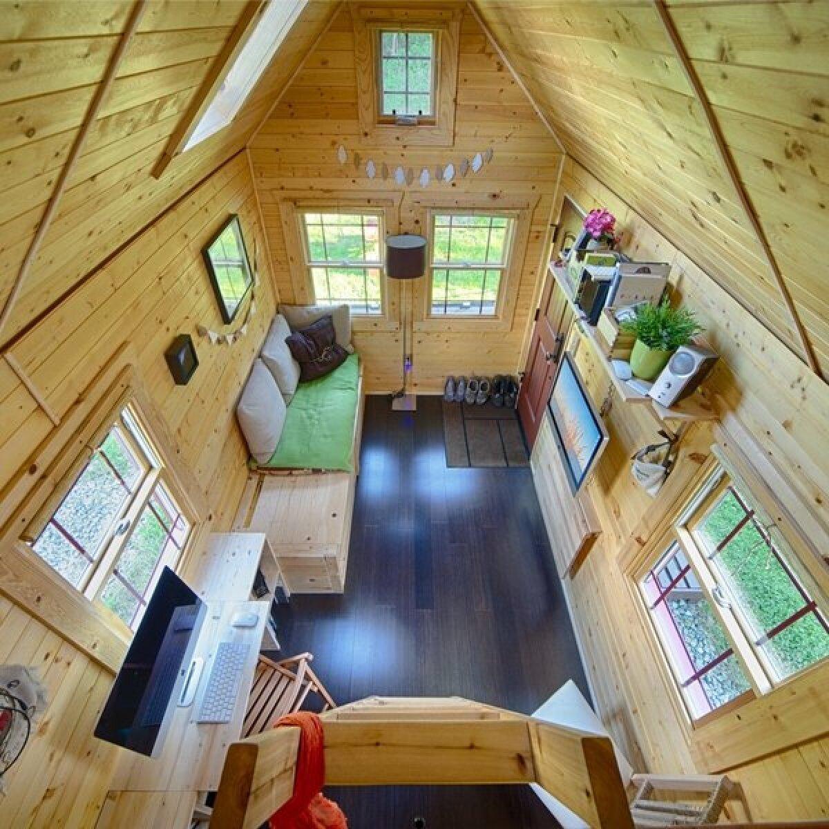 Tiny Tack House - kogu elamine peopesal