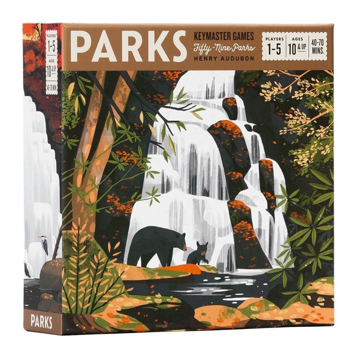"""Mäng """"Parks""""."""