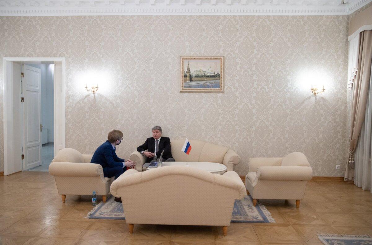 Venemaa suursaadik Aleksandr Petrov