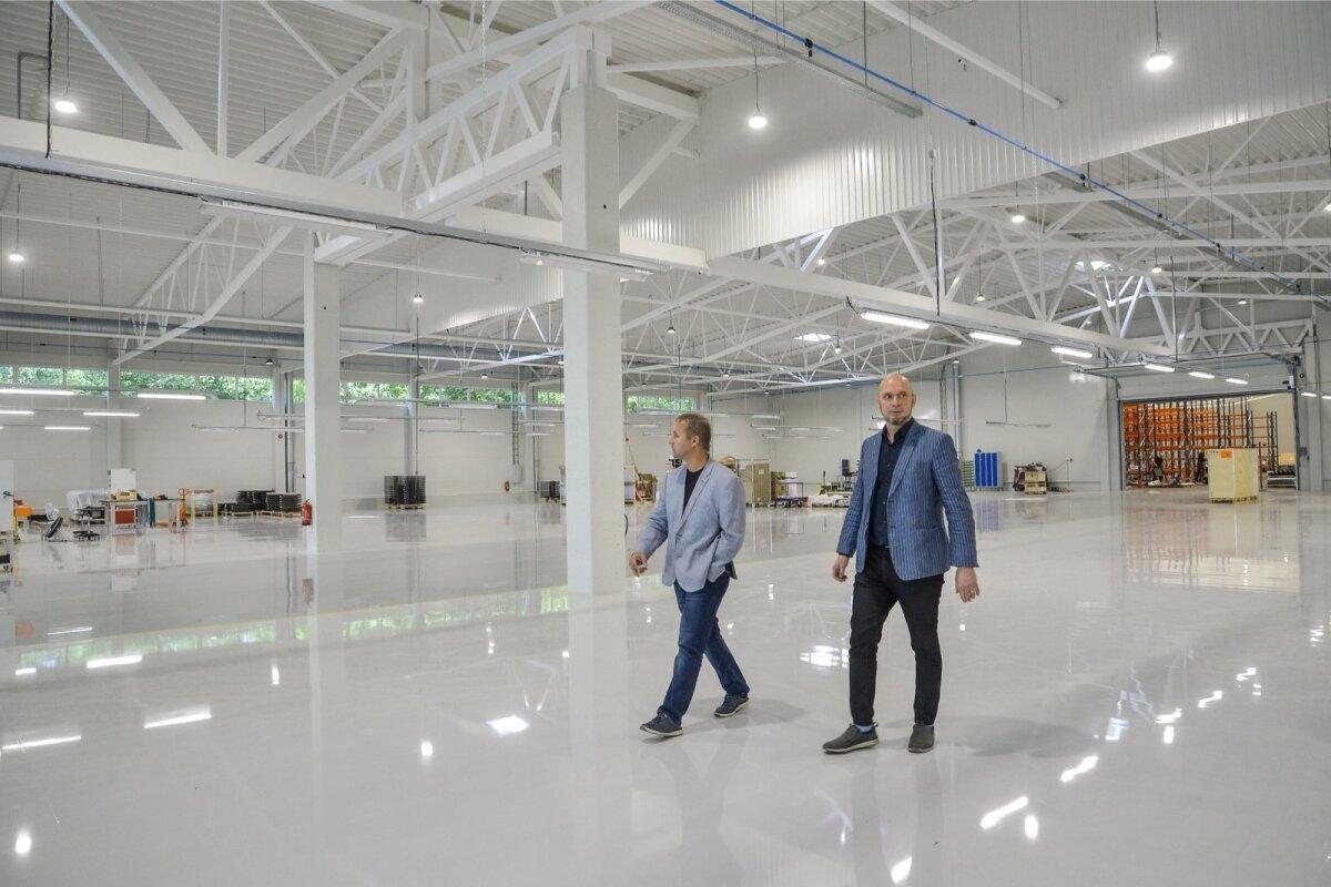 Täna avatakse Viljandis pidulikult Cleveroni tootmishoone oluline laiendus.