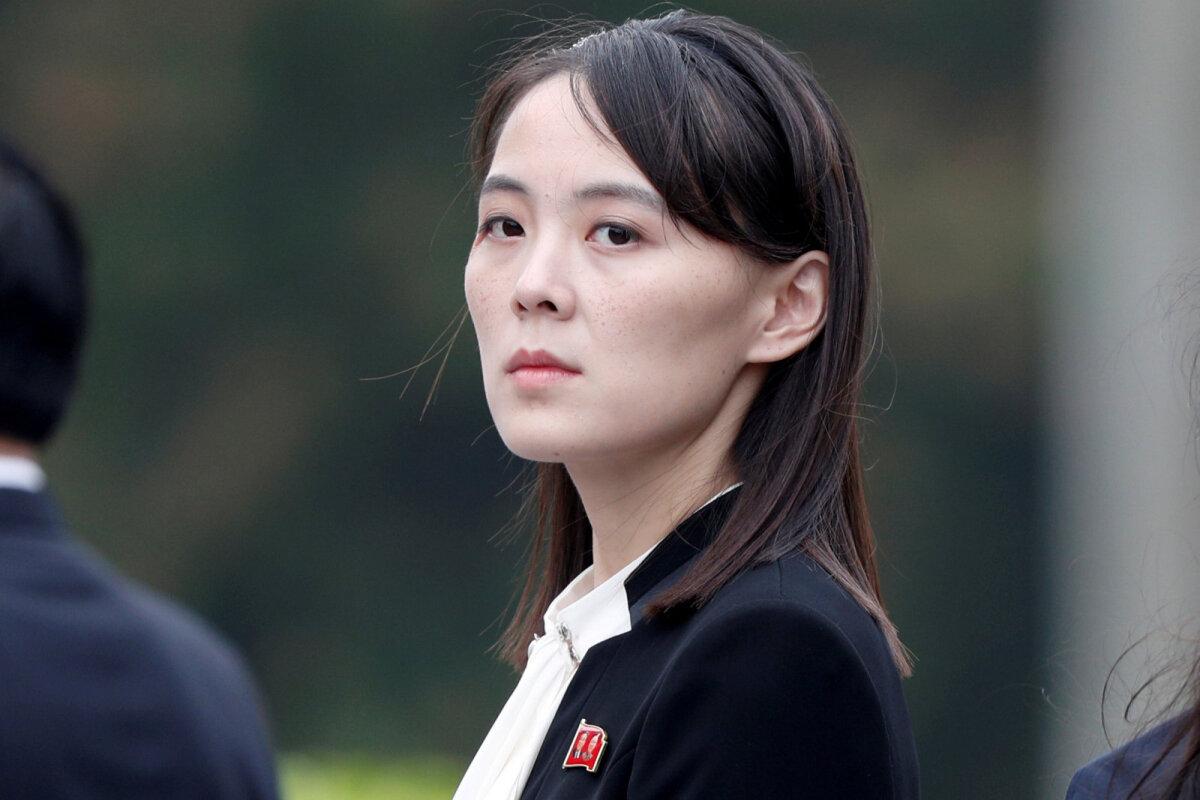 Kim Yo-jong mullu Hanoi tippkohtumisel.