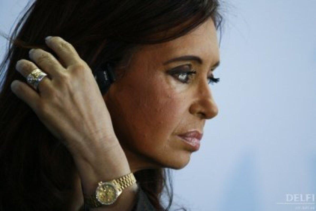 Argentiina president Cristina Kirchner