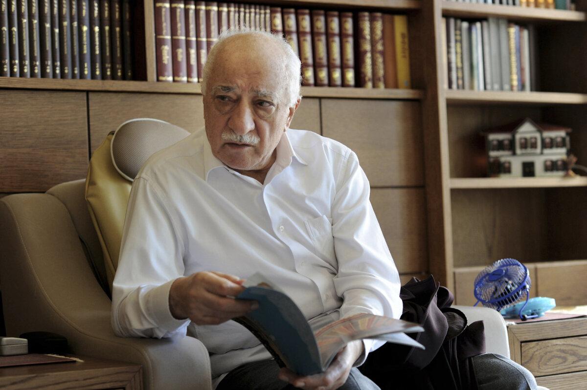 Fethullah Gülen oma kodus Pennsylvanias, kus ta elab eksiilis alates 1999. aastast.