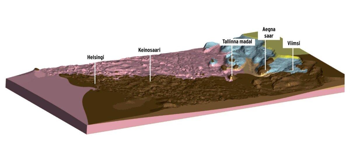 Tunneli asukoha määramiseks on tehtud proovipuurimisi. Võimalike trasside alla jääb graniitpõhi.