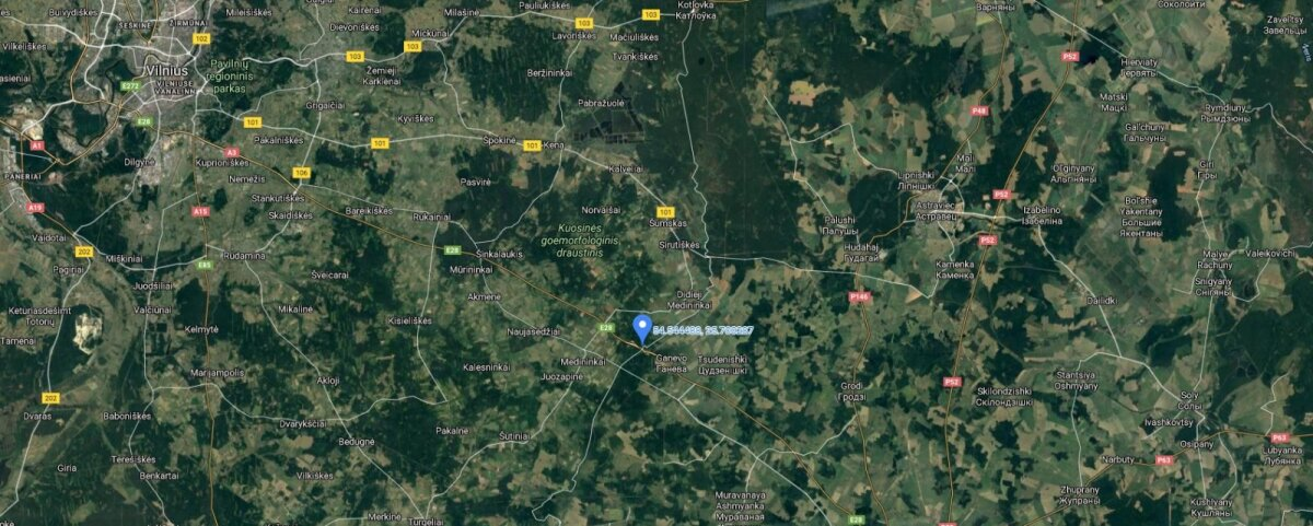 Mööda kiirteed sõidavad migrandid Leedu piirini ning seejärel üritavad ebaseaduslikult üle piiri pääseda.