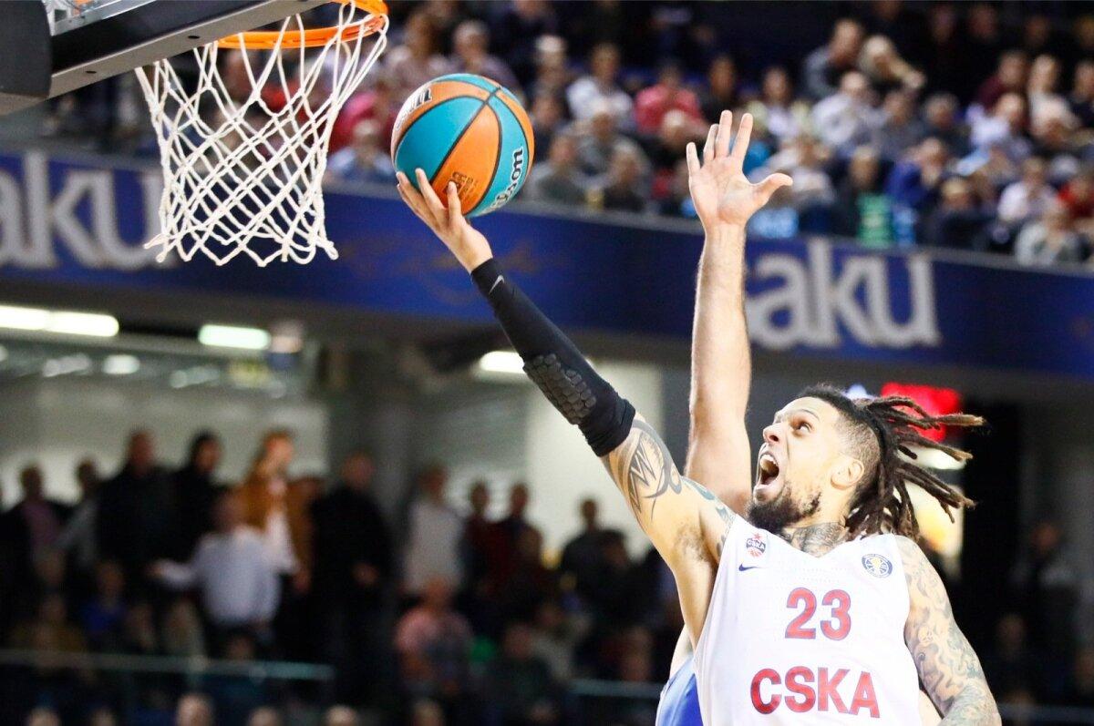 Daniel Hackett ja Moskva CSKA näitasid suurhallis klassi.