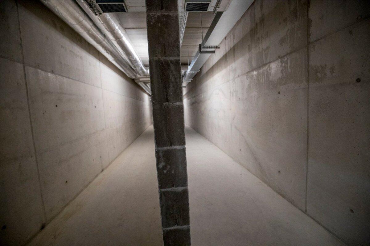 Kinnipeetavad liiguvad territooriumil vaid tunnelites
