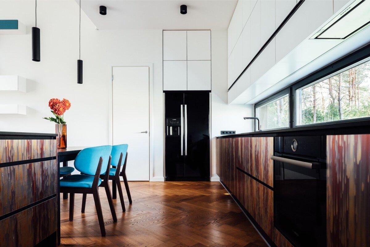 Imelised kontrastid panevad selle köögi elama. Siseaerhitekt Ines Käärma, Ace of Space.