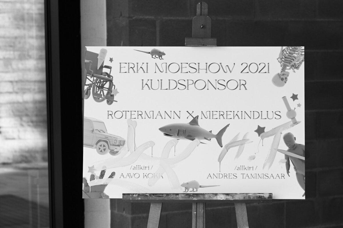 ERKI Moeshow 2021. avasündmus näituse ja EKA pop-up POE avamisega Ajamajas