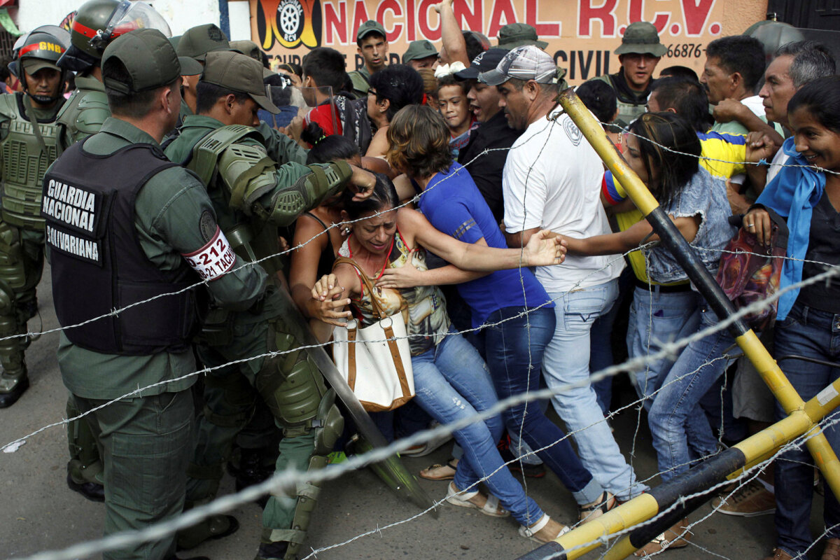 Vihane rahvamass 18. detsembril suletud Venezuela-Kolumbia piiril