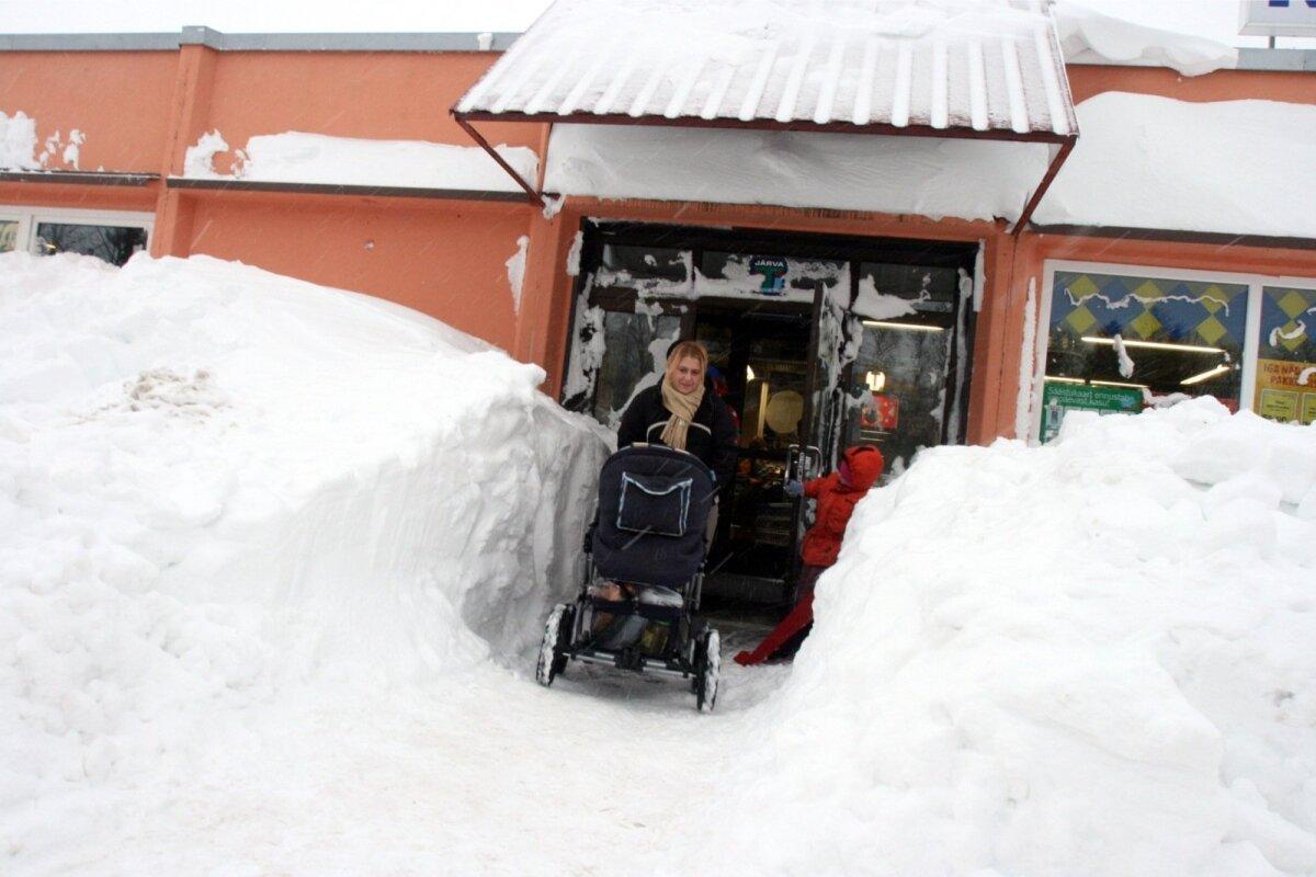 Lumetorm Monika 2010. aasta detsembris