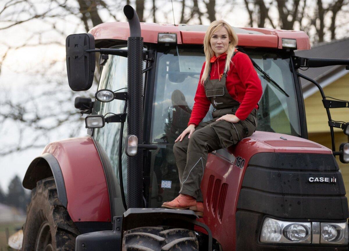 Mullu pälvis aasta põllumehe tiitli piimatootja Kaja Piirfeldt Remmelgamaa talust Harjumaal.