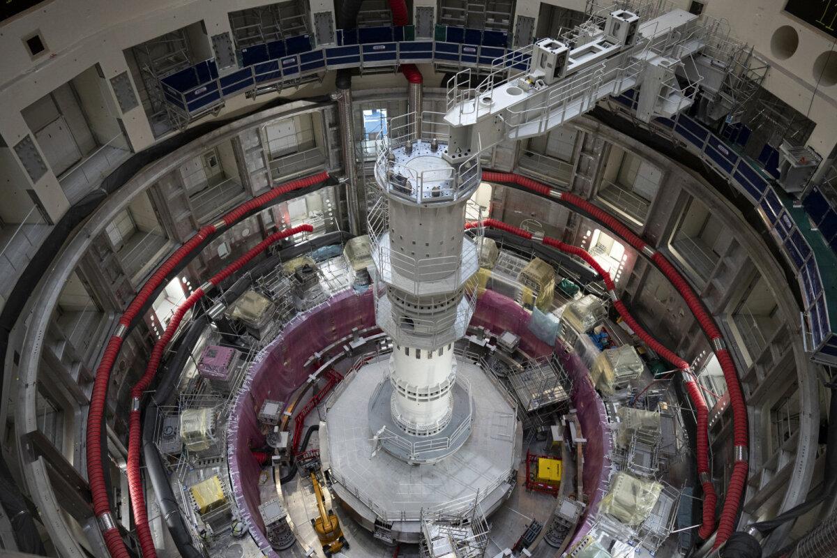 Ja see on tuumasünteesireaktor, mille osaks uus võimas magnet sai (foto: AP / SCANPIX)