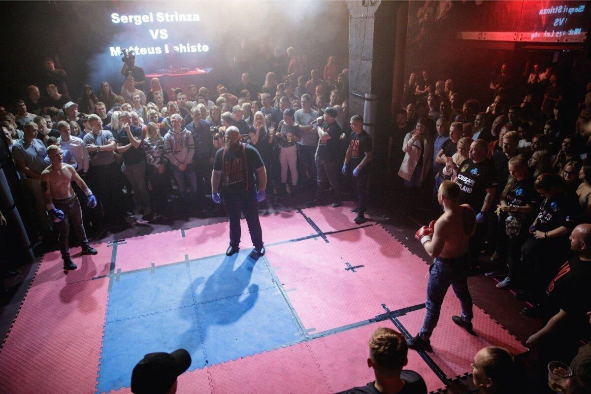 Bad Blood Underground Fights oktoobris ööklubis Factory.