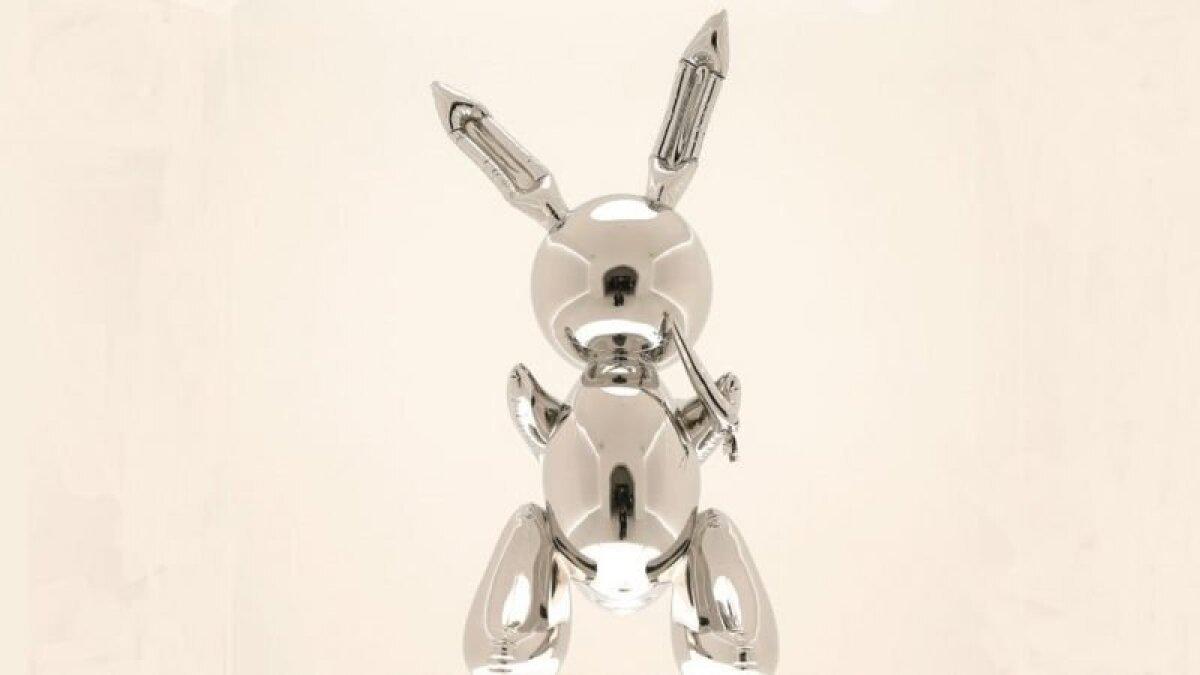 Jeff Koonsi skulptuur
