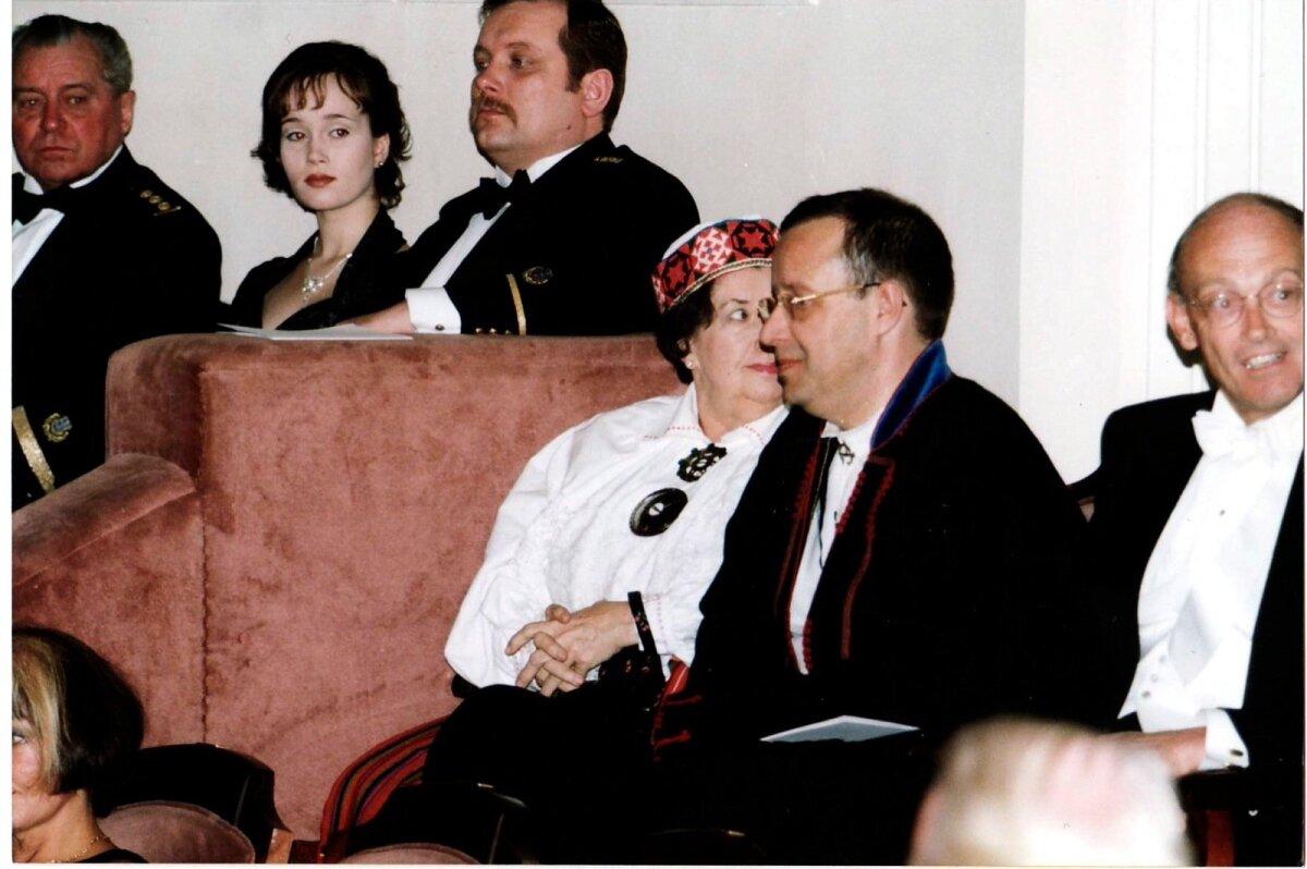 PRESIDENDI VASTUVÕTT 1999