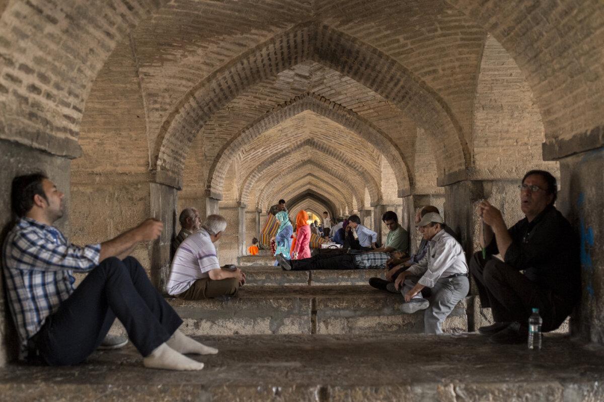 Esfahan, Iraan.