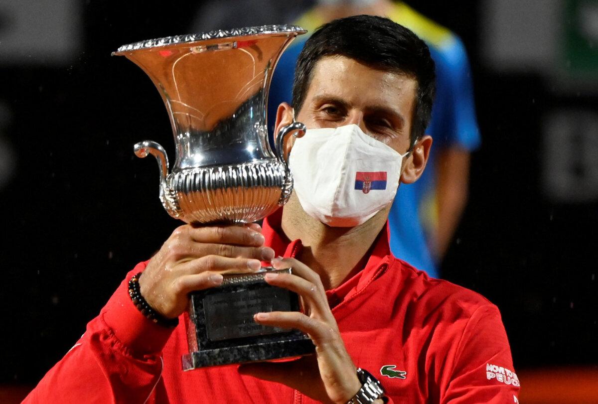Novak Djokovic 21. septembril Roomas.