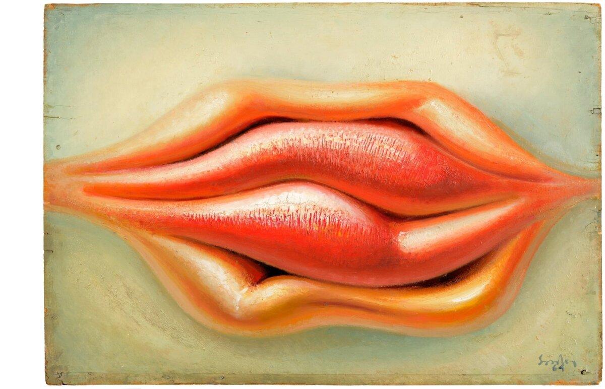 """3. Ülo Sooster, """"Huuled"""" (1964)."""