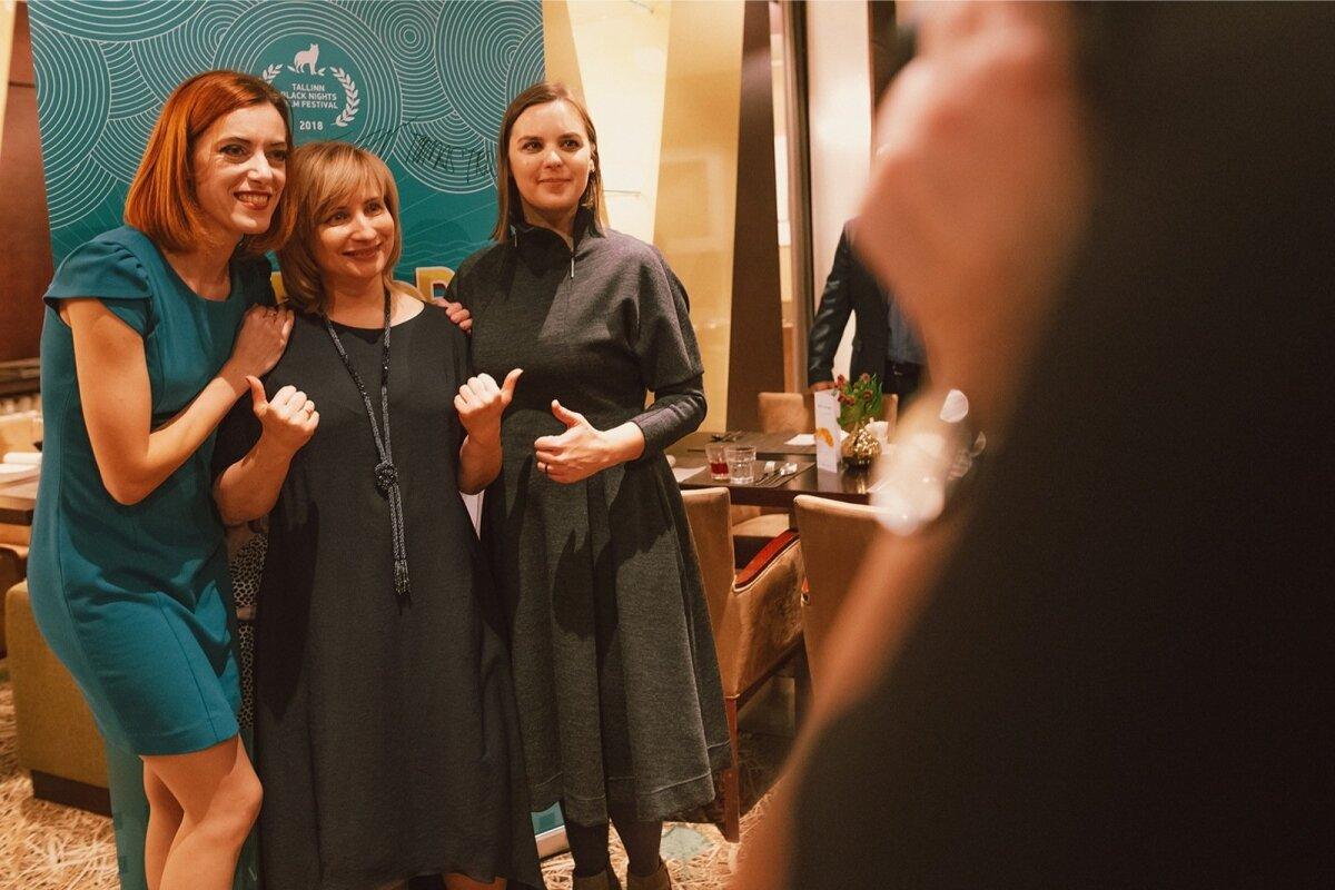 Режиссер Ирина Васильева (в центре)
