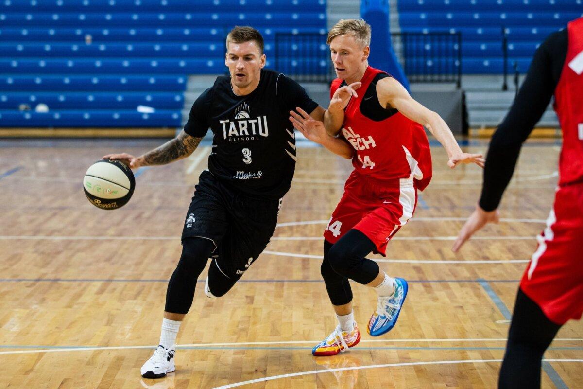 Tallinn, 18.09.2021. Kalevi spordihallis kohtusid Tallinn Cup finaalis TalTech ja Tartu Ülikool Maks&Moorits.