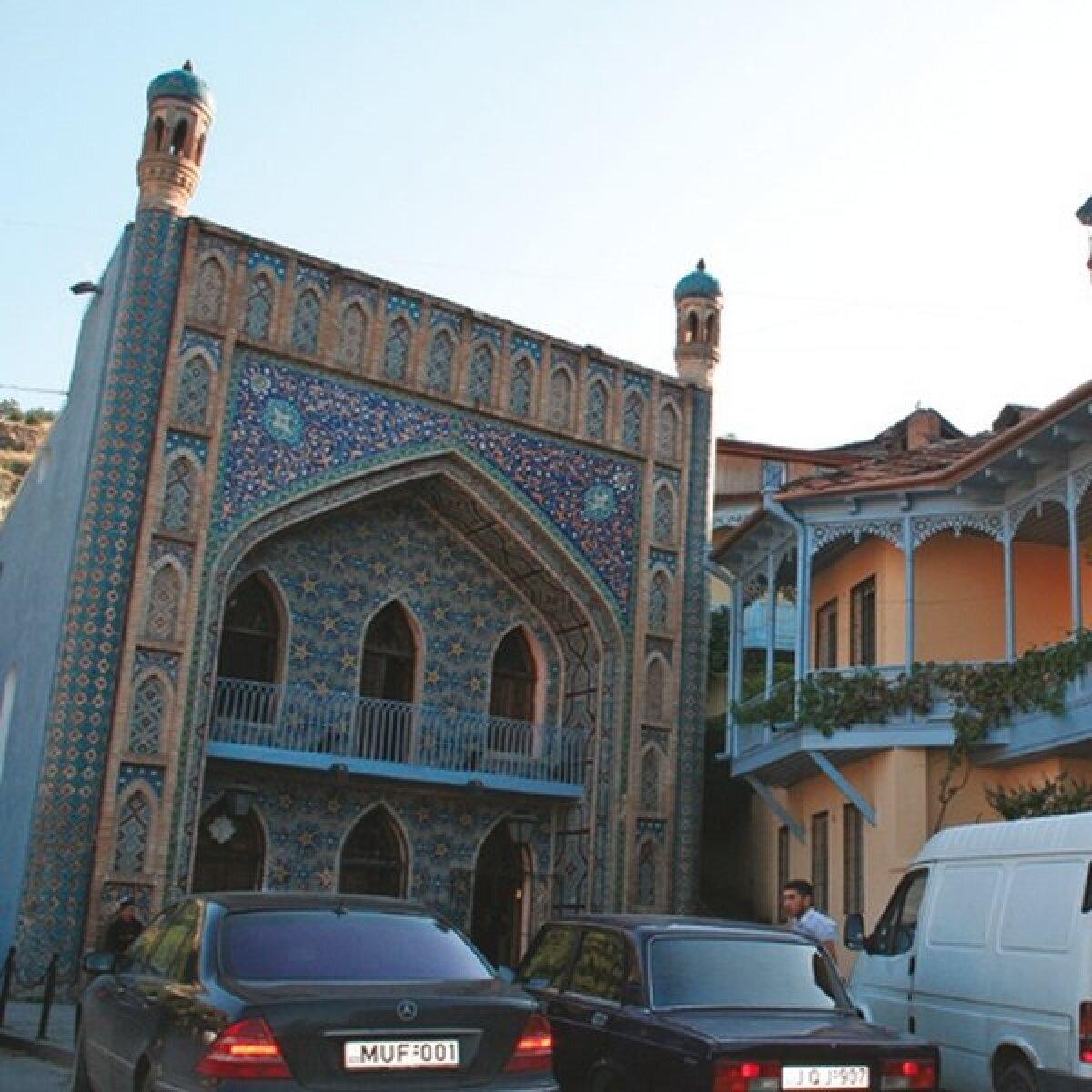 Üks Tbilisi kuulsatest väävlisaunadest.