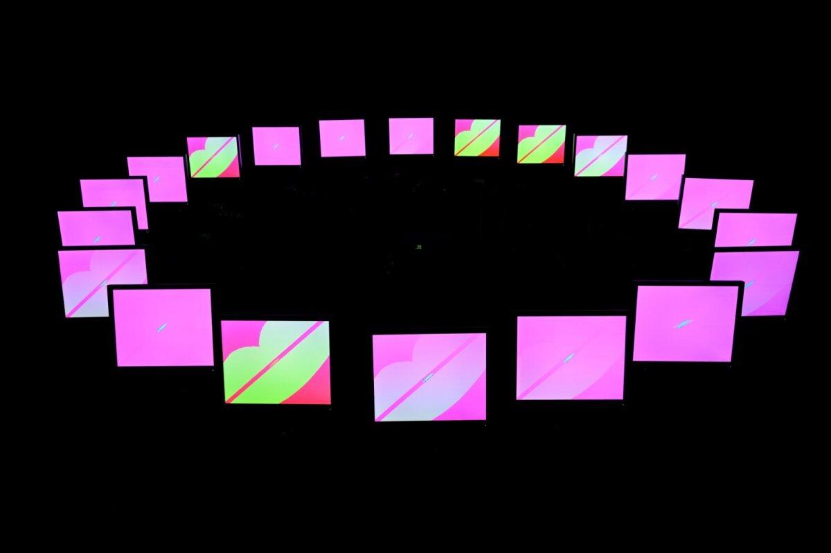"""Pentatonic Color System II. Programm 01 ja 03"" (1994–1999), Raoul Kurvitz"