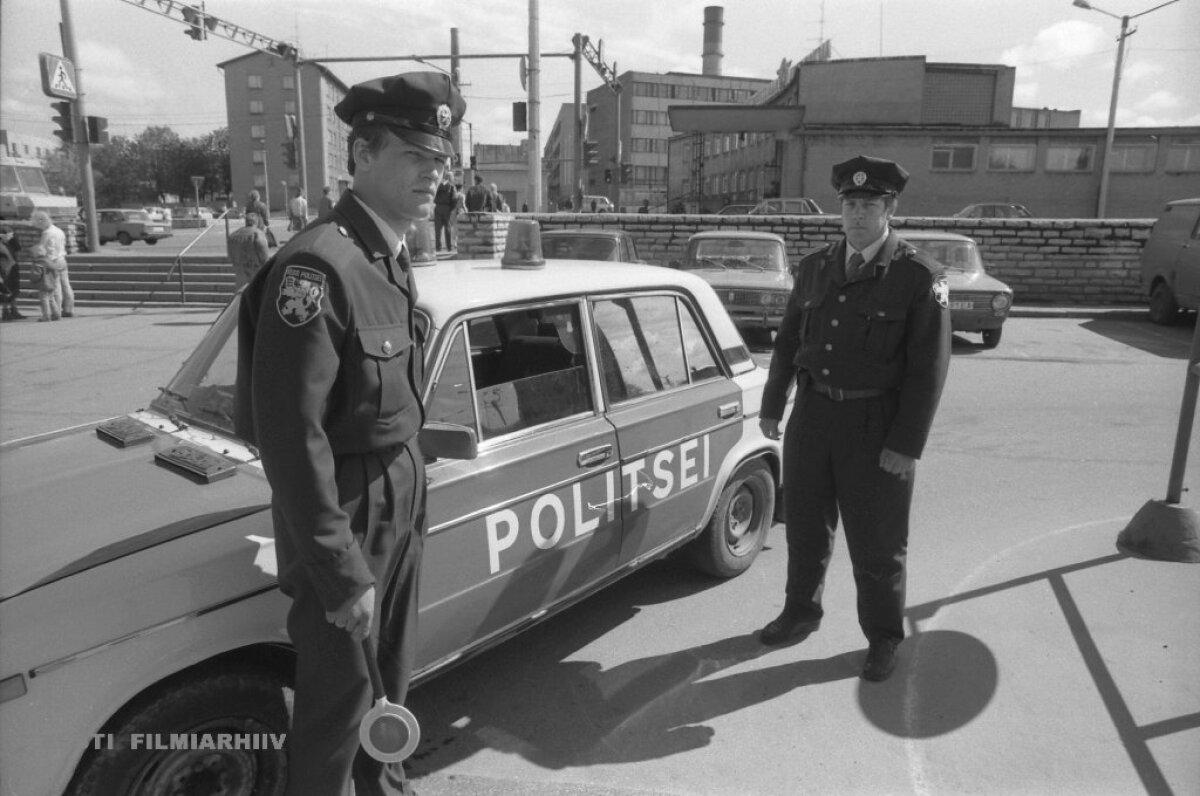 Eesti politsei taasloomine 1991