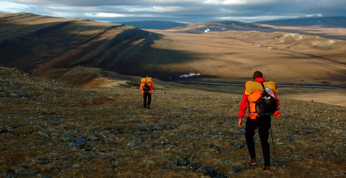 Alaska suvised nõlvad.