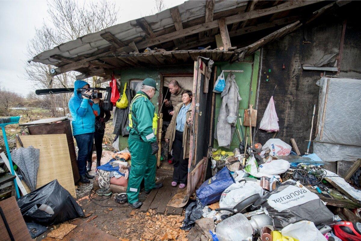 Mupo külastamas kodutute elupaiku