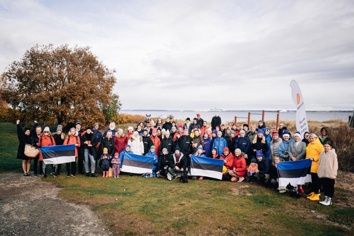 21. oktoobril kogunesid taliujujad ja -suplejad Pikakarile, et tähistada rahvusvahelist ujumispäeva.
