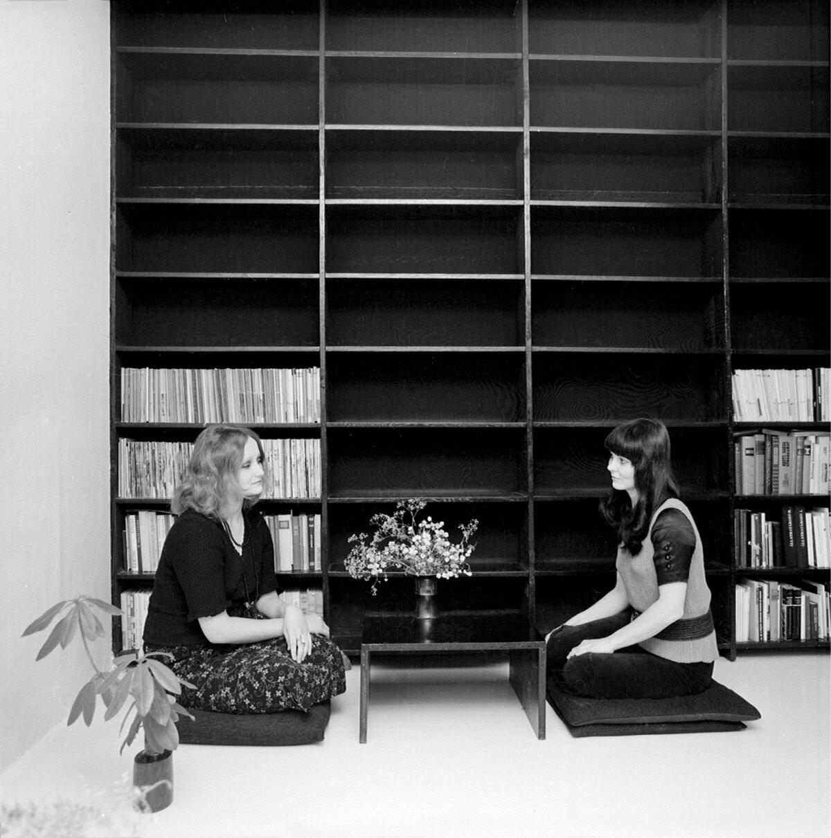 Tõnis Vindi kujundatud Mustamäe korteri interjöör 1970-ndatel